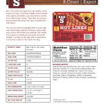 Bar-S Product Sheet