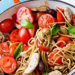 Chicken and Whole Wheat Spaghetti Recipe