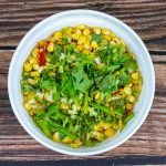 Stir Fried Corn with Pine Nuts